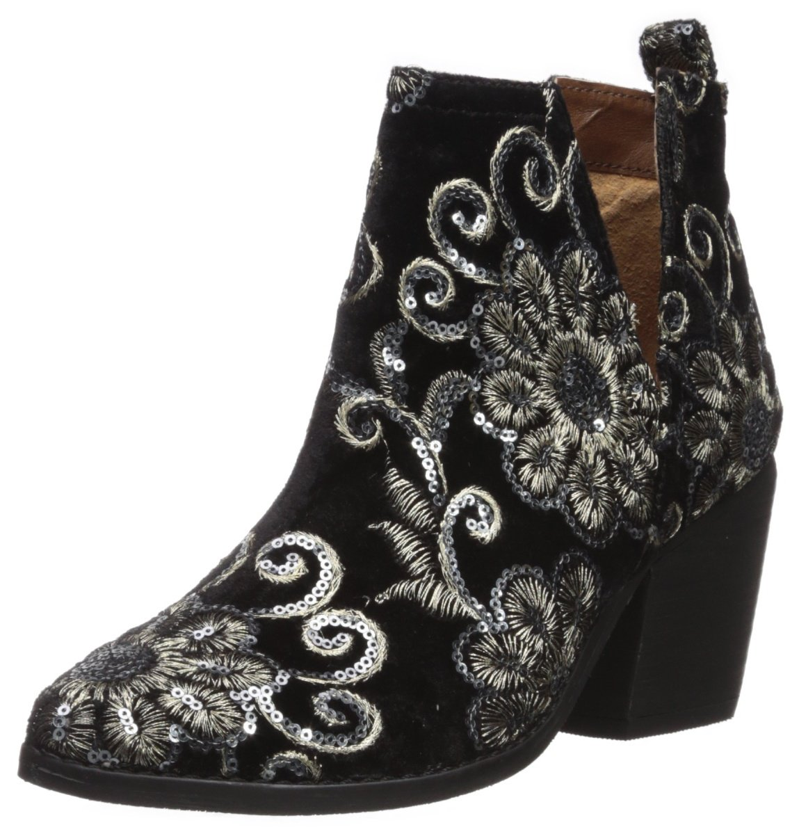 Naughty Monkey Women's Seleni Ankle Boot B075FQ4LRT 7 B(M) US|Black