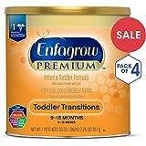 美赞臣Enfagrow过渡阶段婴幼儿2段配方奶粉(适用年龄:9-18月) 20盎司(567g)/罐 (4罐装)(新老包装随机发货)(部分库存有效期至2019年5月1日)