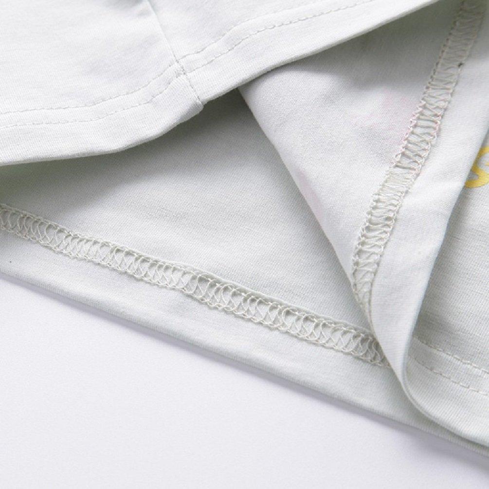 Summer Toddler Baby Boys Girls Casual Clothes Short Sleeve Tops+Pants Tee 2 Pcs Music Dinosaur Suits T-Shirts