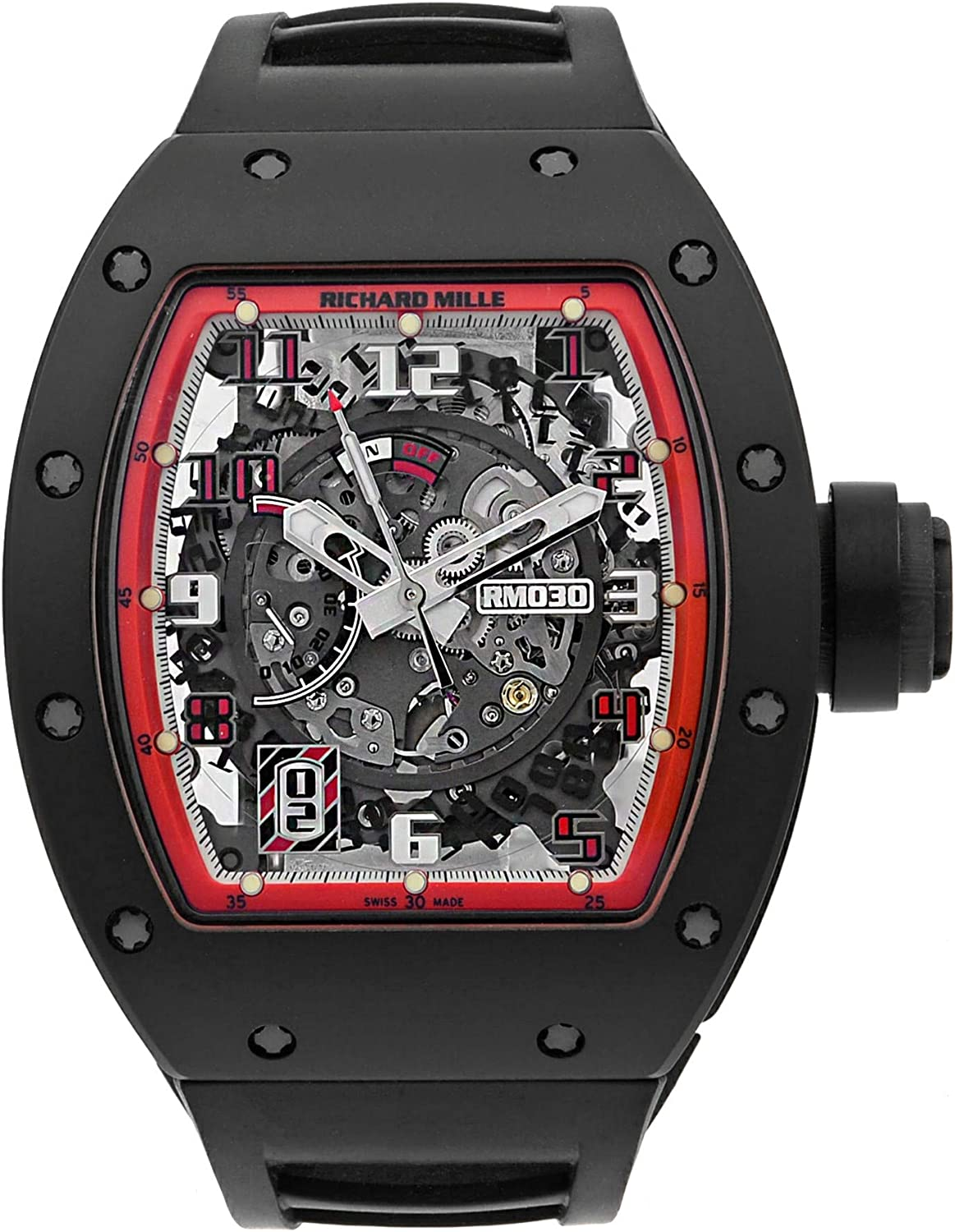 Richard Mille RM 030 Automatic-self-Wind Male Watch RM030 (Certified Pre-Owned)