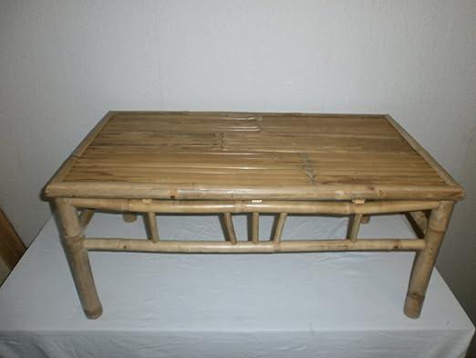 Mesa Mesa Mesa, bambú, Salón, Mesa de jardín, mesa de madera ...