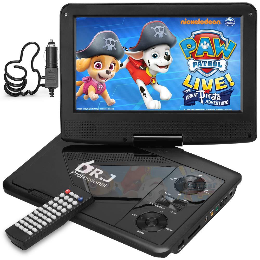 DR. J Professional 11.5″ Portable DVD Player