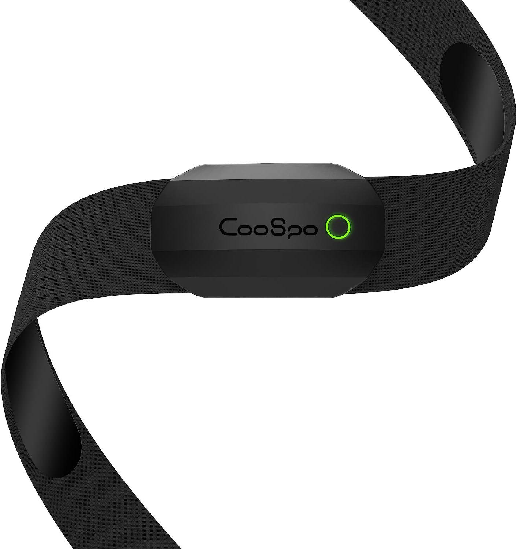 Monitor de frecuencia cardíaca para fitness Ant+ y Bluetooth