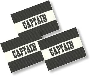 ALIXIN CP016 - Brazalete de capitán dicroico, elástico, para adultos, capitán de fútbol: Amazon.es: Deportes y aire libre