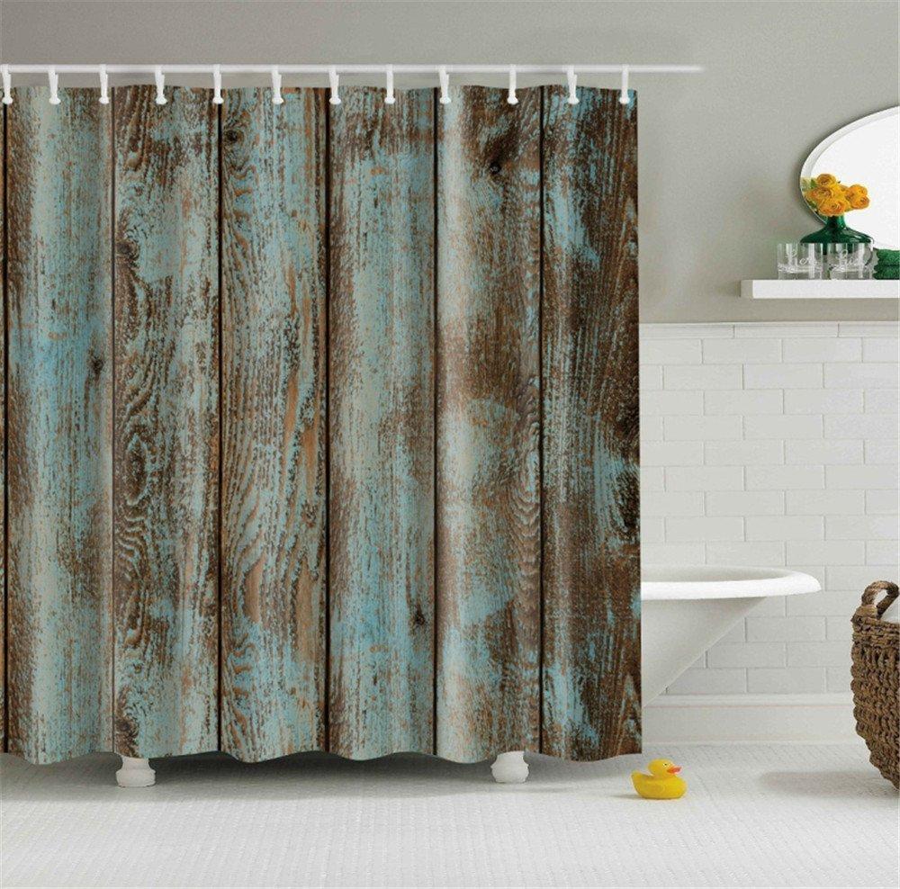 rustic bathroom shower curtains