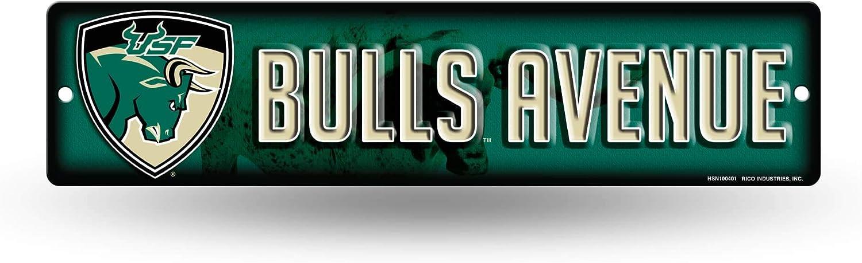 NCAA South Florida Bulls 16-Inch Plastic Street Sign Décor