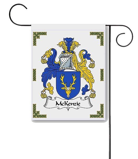 Mckenzie 091231901 - Cojín Escudo de armas/McKenzie familia ...