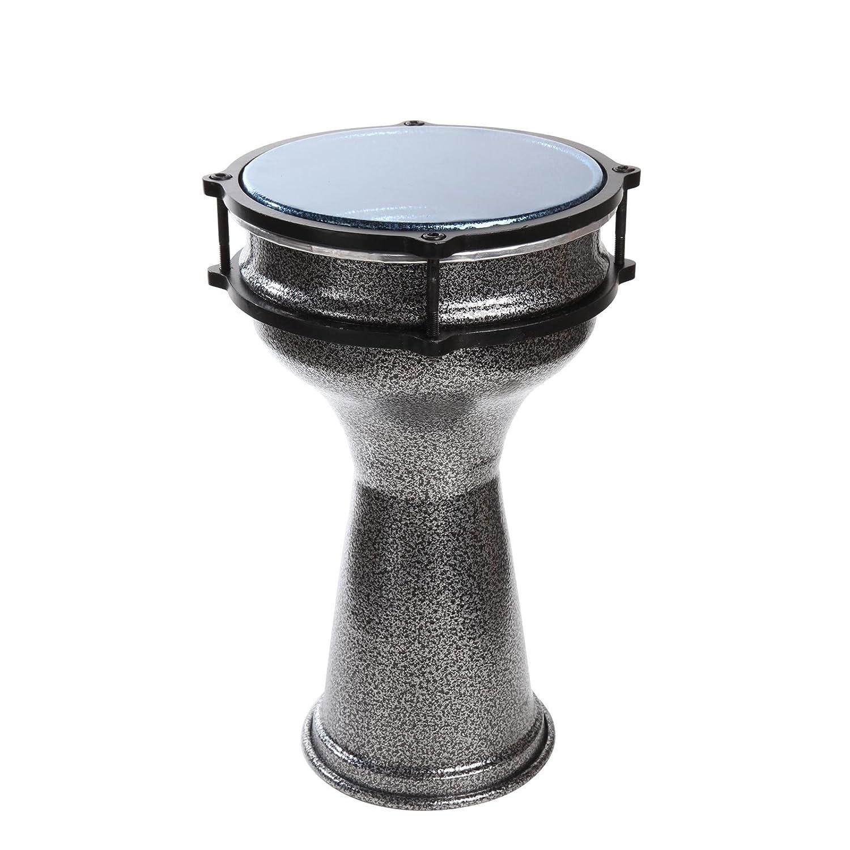 X8 Drums X8-DAR-S 7 x 13 Inches Aluminum Darbuka X8 Drums & Percussion