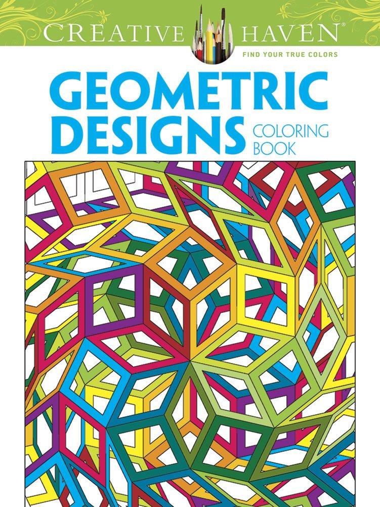 Amazon.com: Creative Haven Geometric Designs Collection Coloring ...
