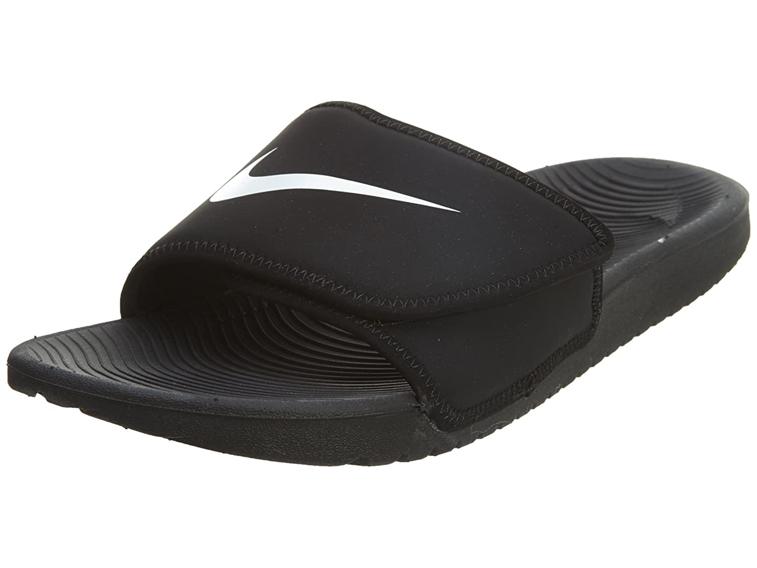 e752dcea3 ... coupon code for amazon nike boys kawa adjust slide sandal gs ps black  white size 12