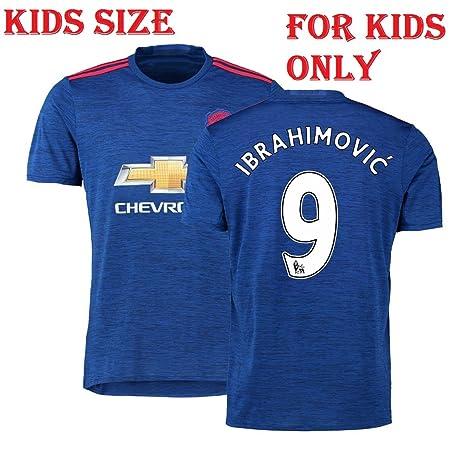 22abc835c Ibrahimovic Manchester United Jersey Set for Boys   Girls