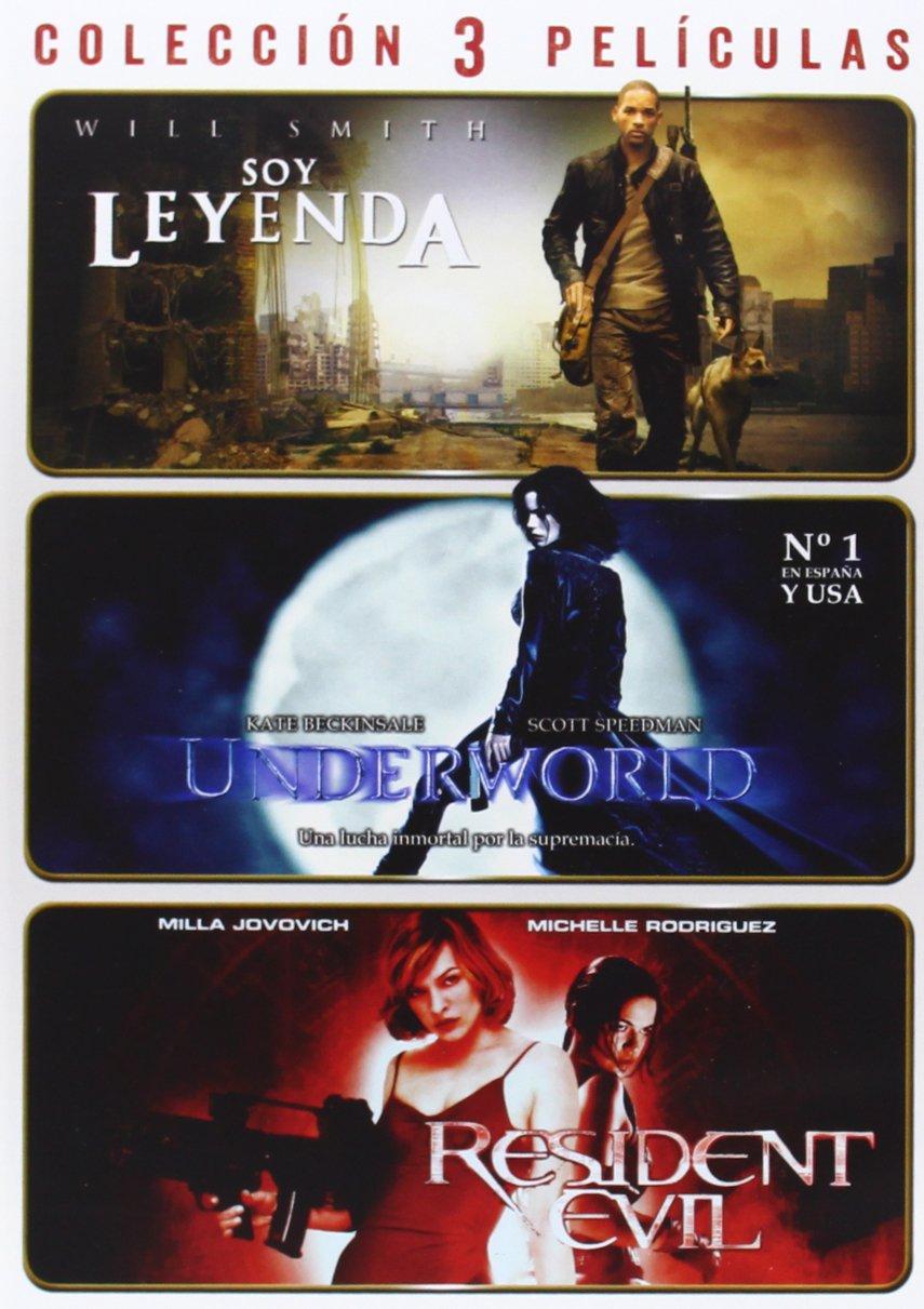 Pack: Soy Leyenda + Underworld + Resident Evil [DVD]: Amazon.es ...