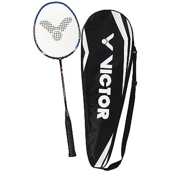 f6574c86e93 Victor V-3700 Magan Graphite Badminton Racquet - Black Blue - 89g ...