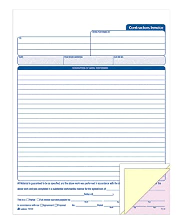 personal invoice books - Isken kaptanband co