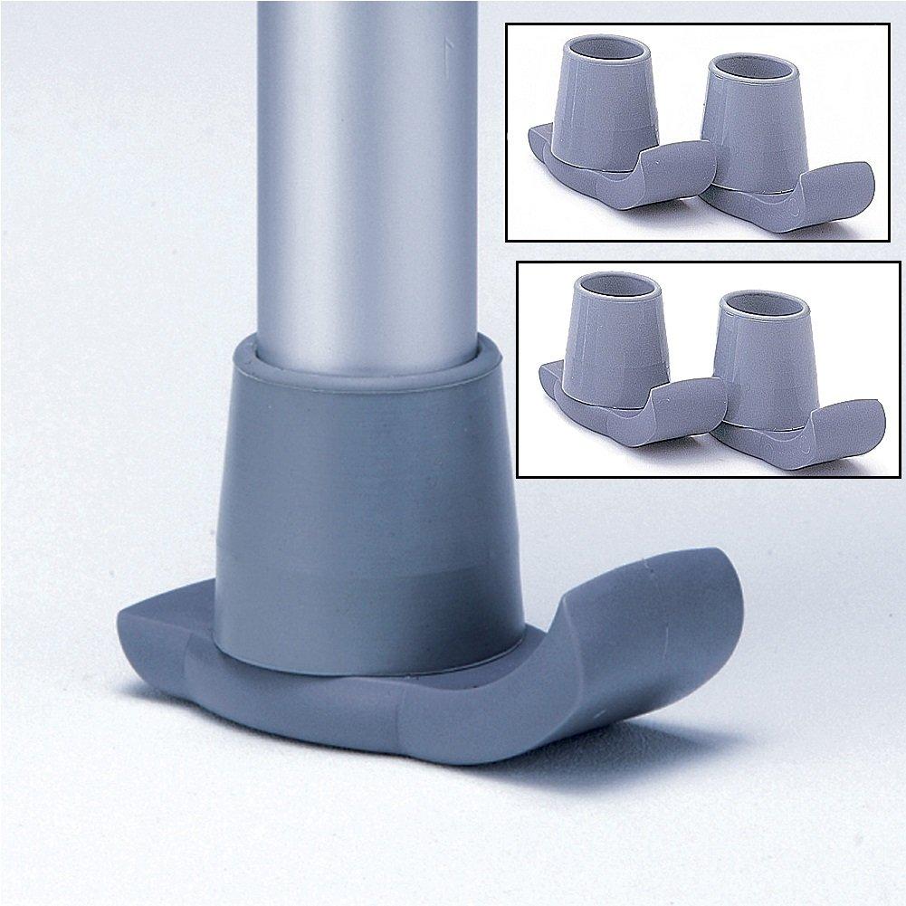 (Set/4) Deluxe Walker Glide Sliders - Nylon Support Tips For More Stability