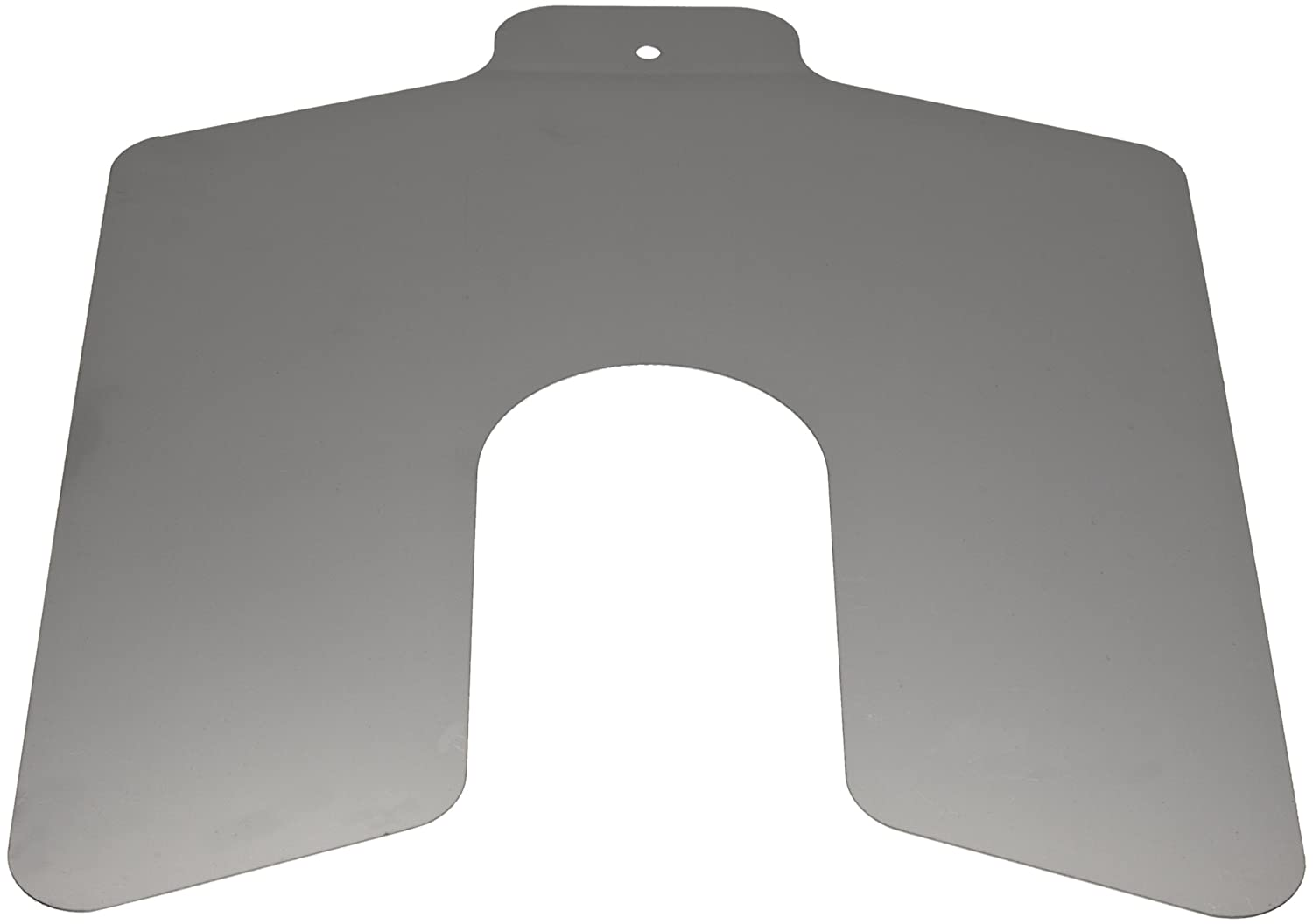 Stainless Steel Slotted Shim, Unpolished (Mill) Finish, 0.050' Thickness, 8' Width, 8' Length (Pack of 5) 0.050 Thickness 8 Width 8 Length (Pack of 5) Precision Brand 698158428502