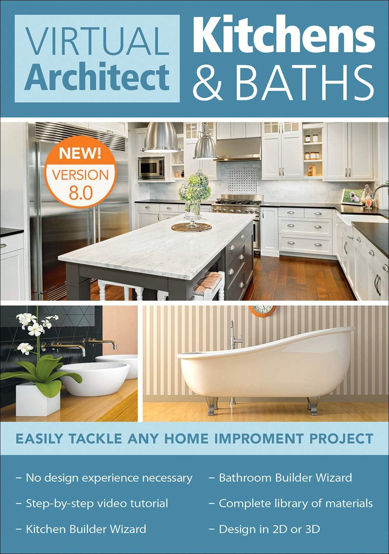 Amazon Com Virtual Architect Kitchens Baths 8 0 Pc Download Software