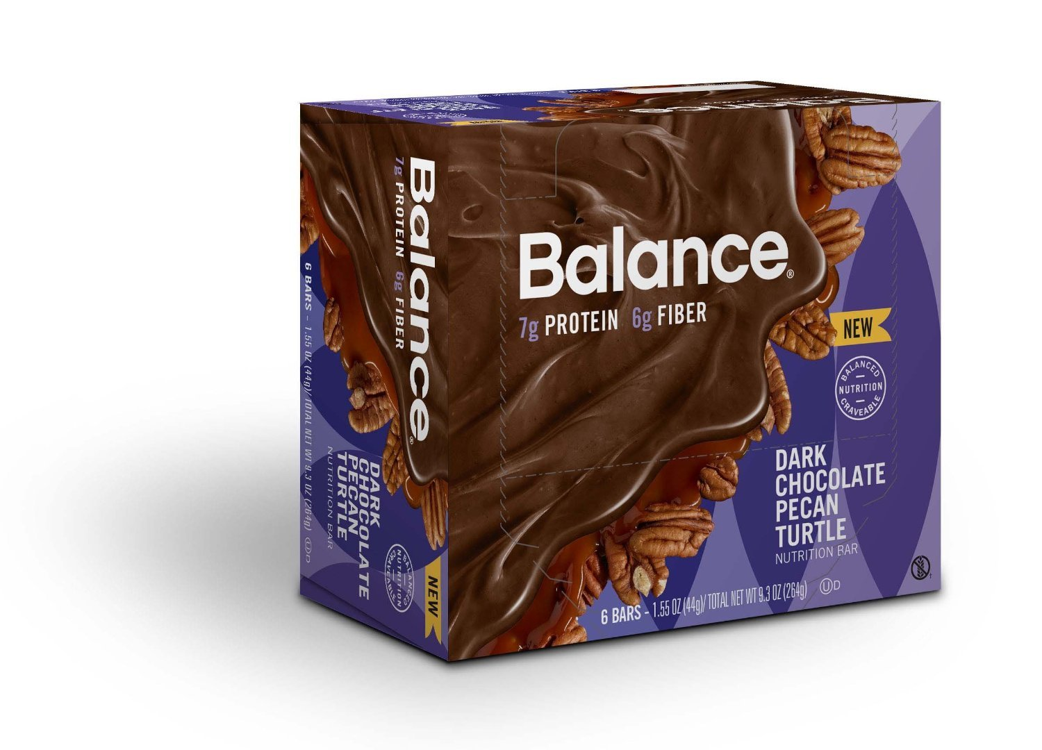 Amazon.com: Balance Bar® Dulce De Leche & Caramel, 20 gram mini bars, 10  count: Health & Personal Care