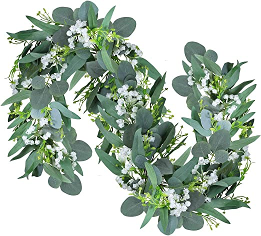 Quality Guaranteed Grower Direct Silver Dollar Eucalyptus Garland