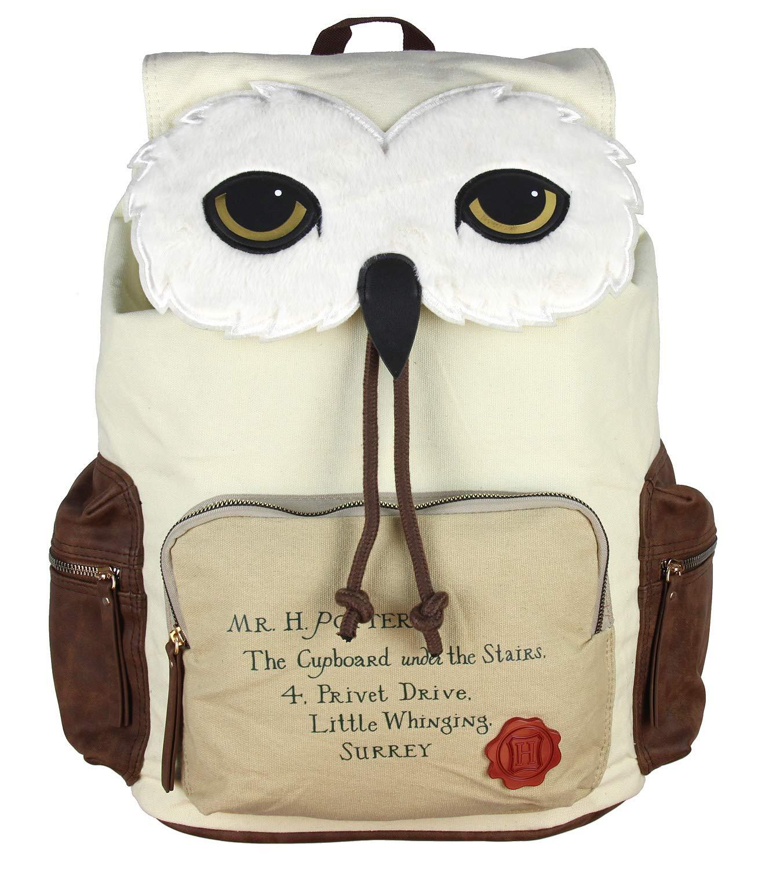 ویکالا · خرید  اصل اورجینال · خرید از آمازون · Harry Potter Backpack Hedwig Owl Hogwarts Letter Laptop Rucksack wekala · ویکالا