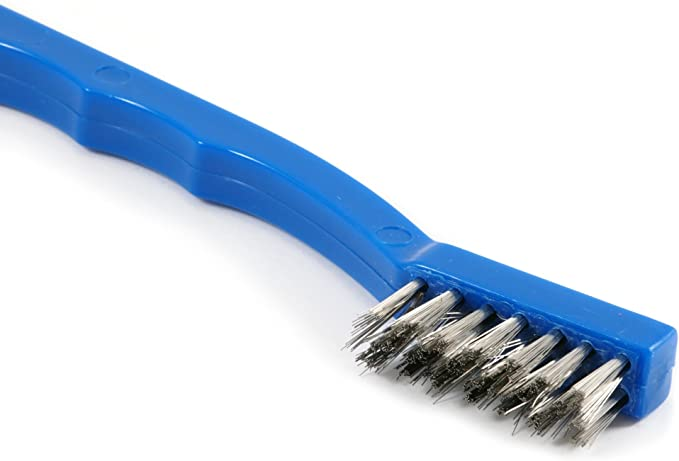 """US USA #BNS4S06 1//2/"""" WIRE END  BRUSH .006 WIRE STAINLESS STEEL  W// 1//4/"""" SHANK"""