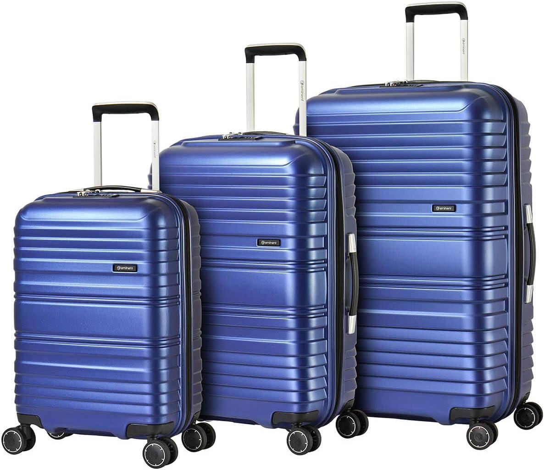 Eminent Bagage Cabine Horizon 54 cm 40 L Poids l/éger TPO mat/ériau Recyclable 4 Roues Doubles silencieuses Bleu