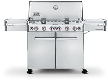 Weber 7370049 - Barbacoa Summit S-670 GBS INOX + Funda