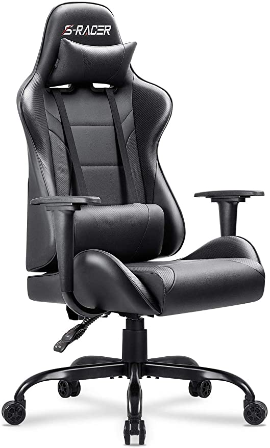Excellent Homall Gaming Office Chair Computer Chair High Back Racing Desk Chair Pu Leather Adjustable Seat Height Swivel Chair Ergonomic Executive Chair With Gmtry Best Dining Table And Chair Ideas Images Gmtryco