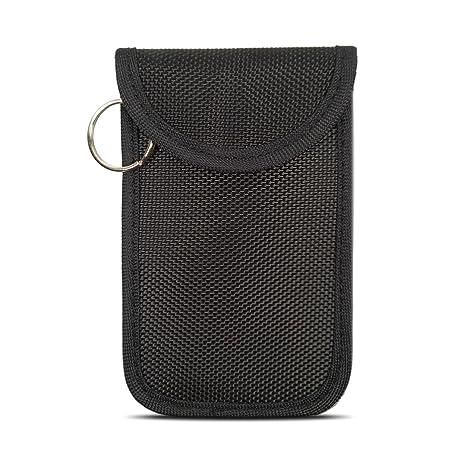Naviurway Small Keyfob Guard Mini Keyless Remote fob Holder RFID Key Fob  NFC Credit Card Driver License Faraday Bag