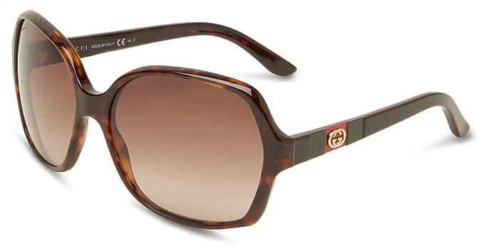 3e8243a2ad Amazon.com  GUCCI Women s GG3538S Butterfly Sunglasses