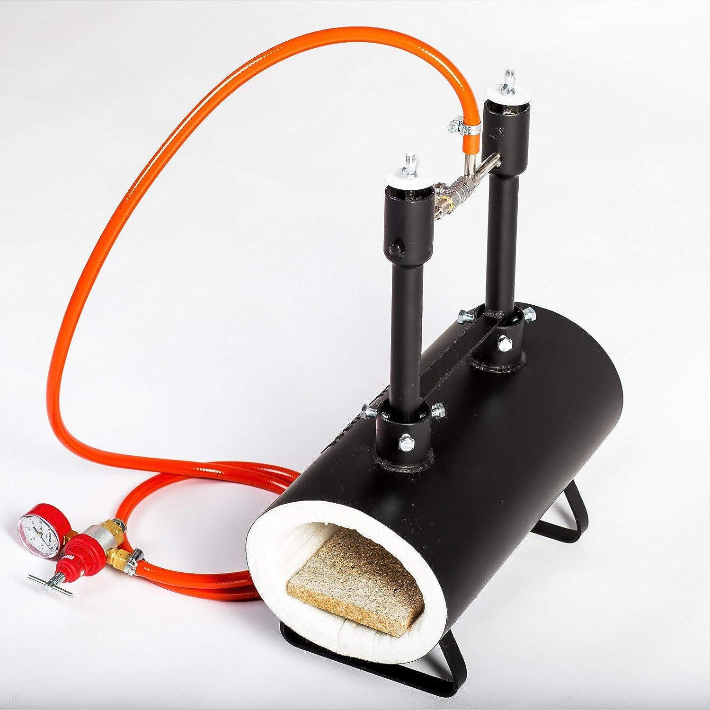 Gas Propane - Quemador dual para hacer cuchillos, herraduras o ...