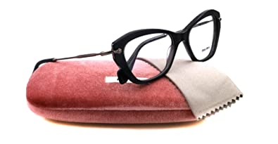 7870adfb8149 Miu Miu Eyeglasses VMU 04L GREY KAM1O1 VMU04L  Amazon.co.uk  Shoes ...