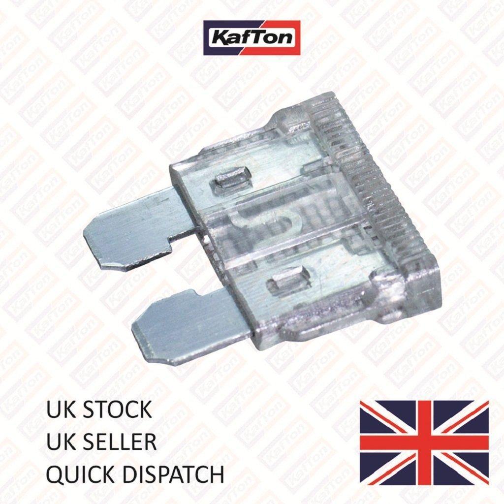 Kafton 25Amp Standard Blade Fuses Car Van Truck Auto - Pack of 10