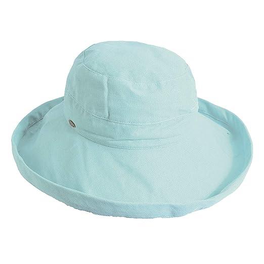 e418d28dcd9 Scala Women s Medium Brim Cotton Hat
