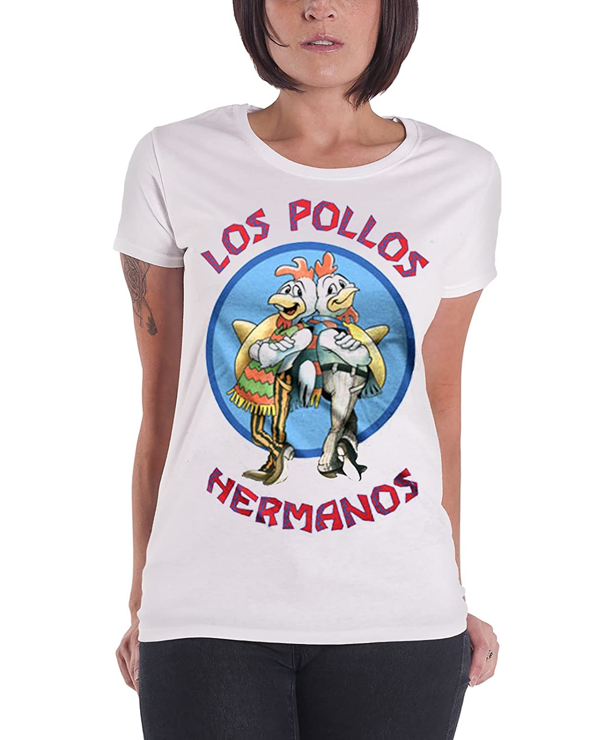 Officially Licensed Merchandise Los Pollos Hermanos Girly T-Shirt