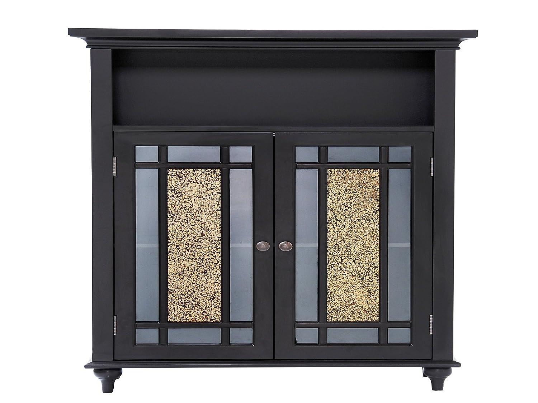 Amazon Elegant Home Fashions Whitney Double Door Floor Cabinet