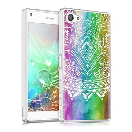 Amazon.com: kwmobile Crystal Carcasa de silicona y TPU para ...