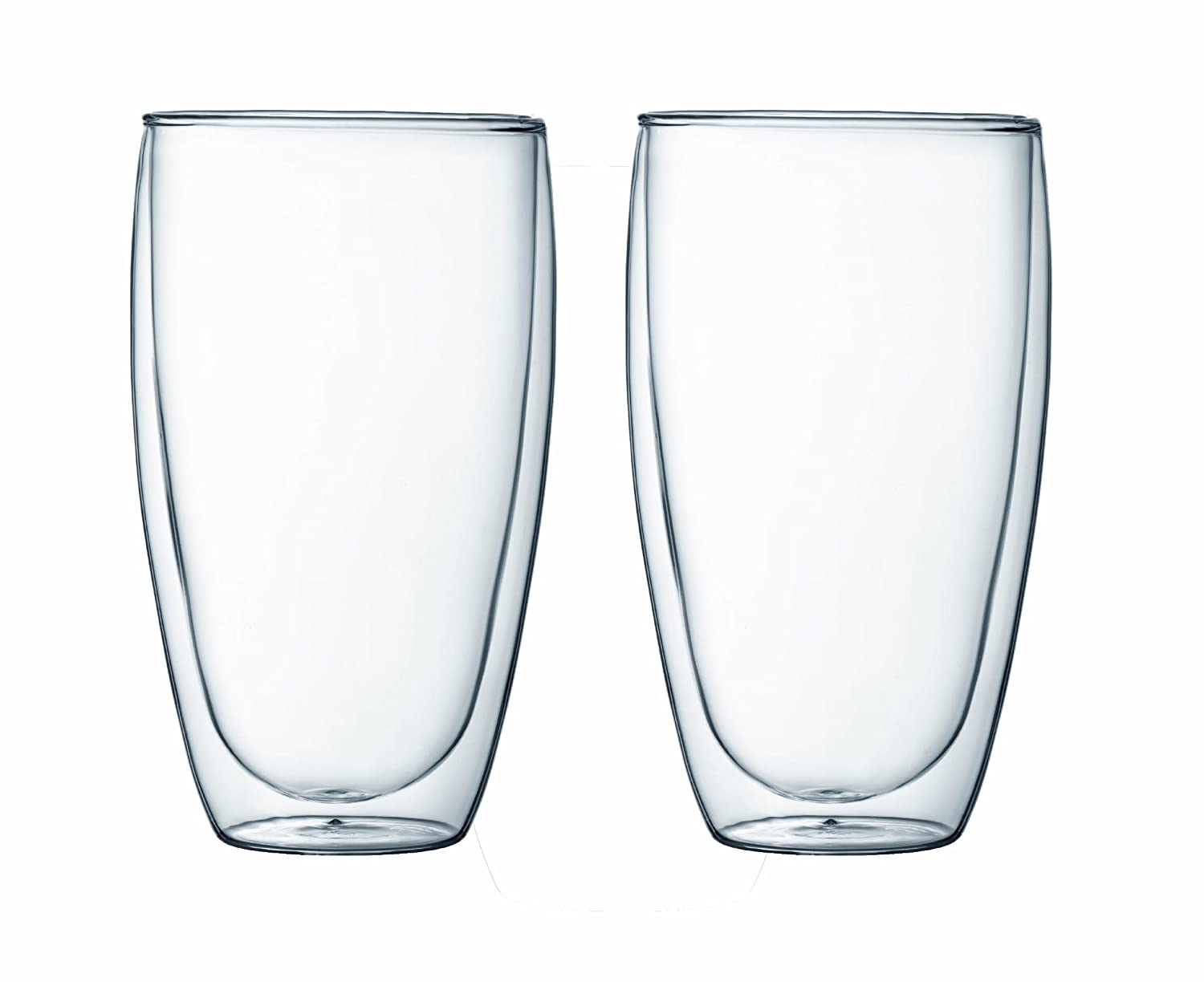 Bodum Pavina 2-Ounce Double-Wall Thermo Glasses (Espresso/Shot), Set of 2 4557-10US BOD455710US