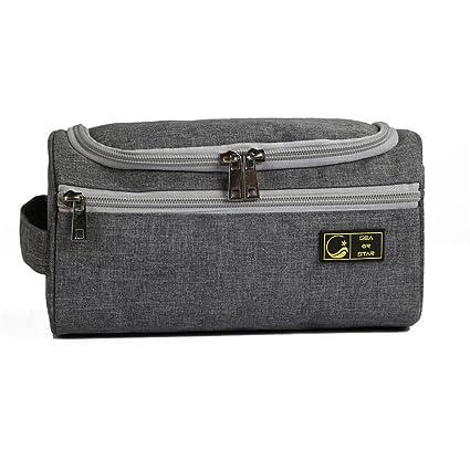SEA OR STAR Neceser con colgante para hombres Durable impermeable bolsa de organizador de viaje de