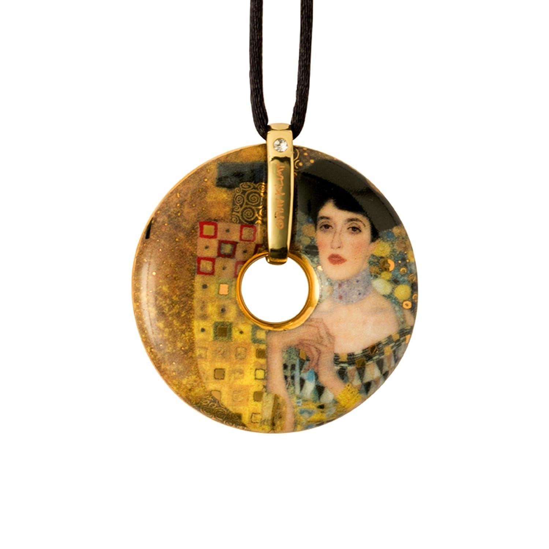 Goebel, Porzellan-Kette, Gustav Klimt, Adele Bloch Bauer, Vergoldet ...
