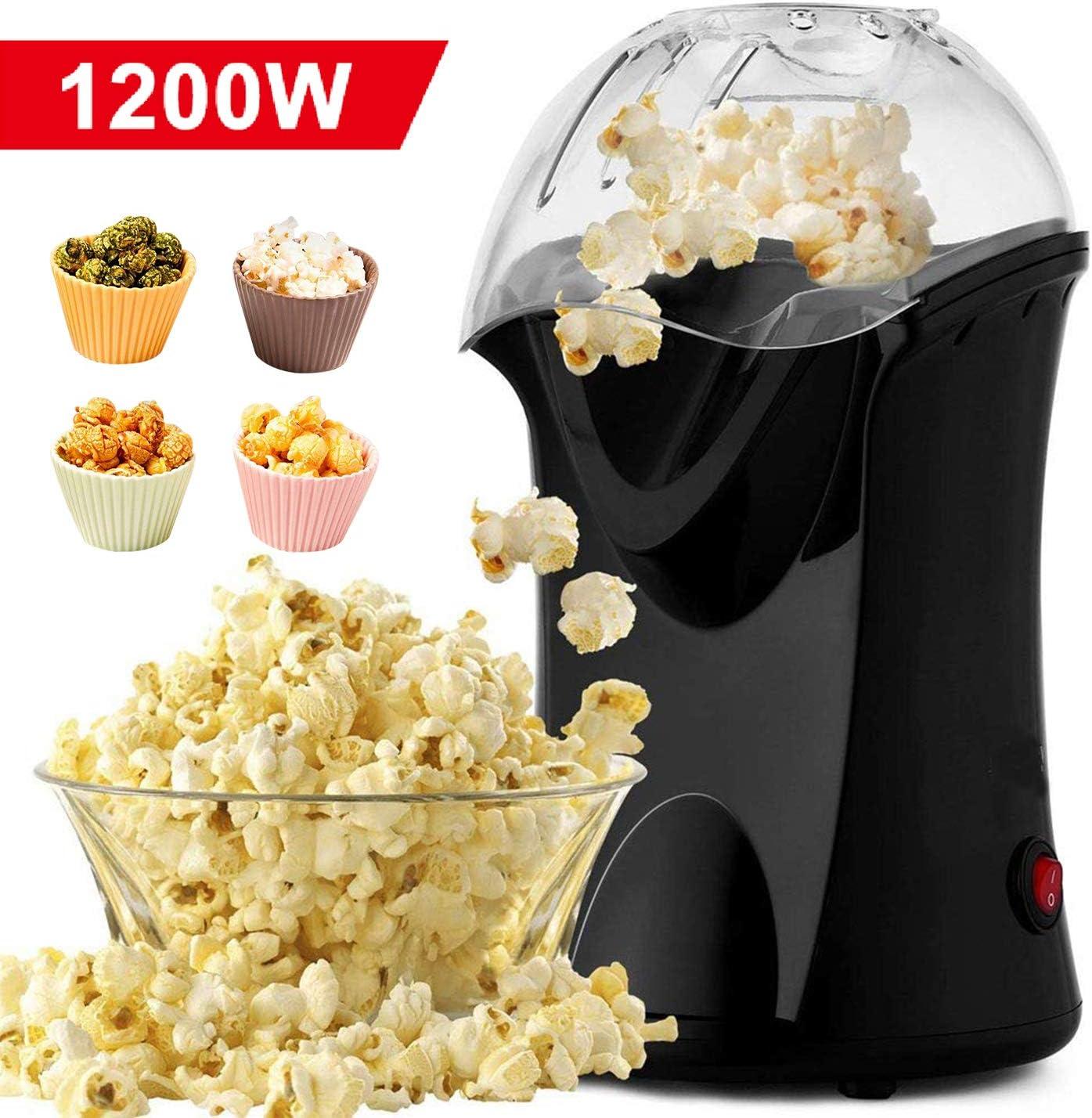 Homdox Hot Air Popper Popcorn Maker