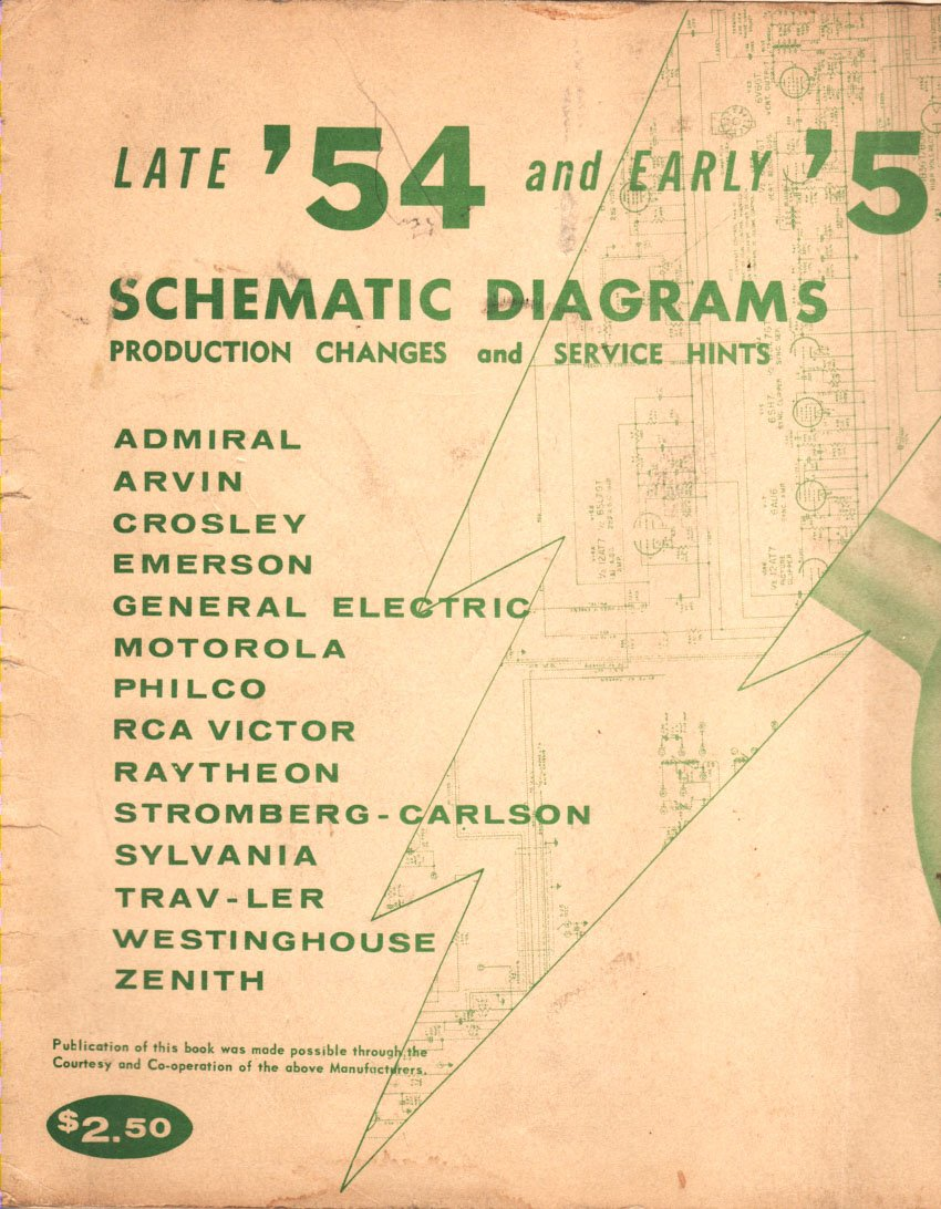 Late '54 and Early '55 TV Schematic Diagrams Production ... Rca Schematics on synthesizer schematics, antique radio schematics, zenith schematics, 4cx1500b amplifier schematics, whirlpool schematics, tube audio amplifier schematics, otl amplifier schematics, yamaha schematics, usb schematics, kitchenaid schematics, radio shack schematics, magnavox schematics, bose schematics,