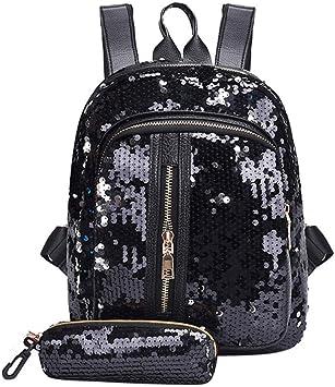 Floral Animal Canvas Backpack Large Rucksack School Satchel Travel Unisex Bag