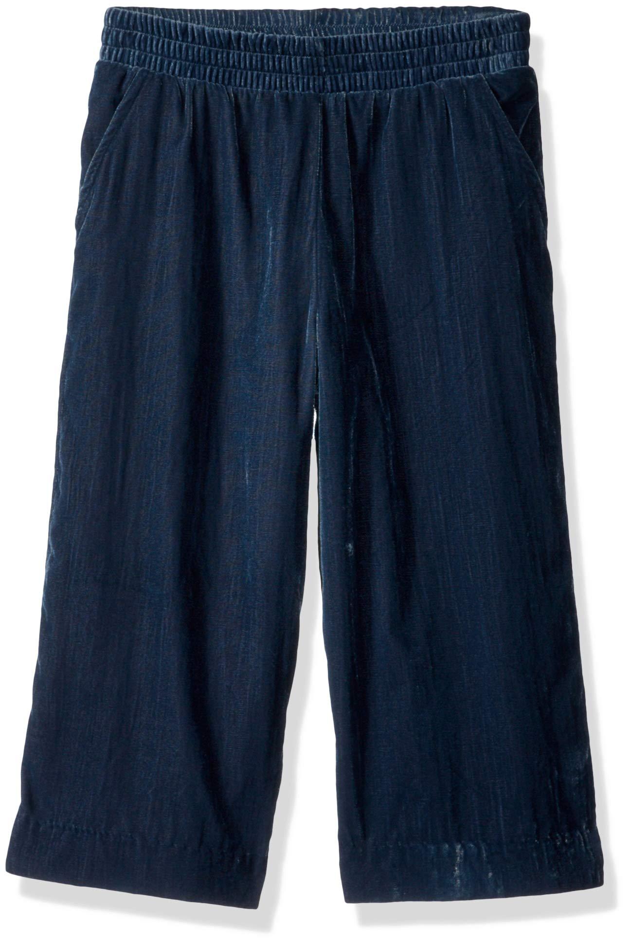 Gymboree Girls' Big Culotte Pants, Frosty Cord Blue, XS
