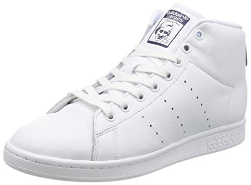 a76bb9685c1 adidas Men s Stan Smith Mid Sneaker Turtleneck  Amazon.co.uk  Shoes ...