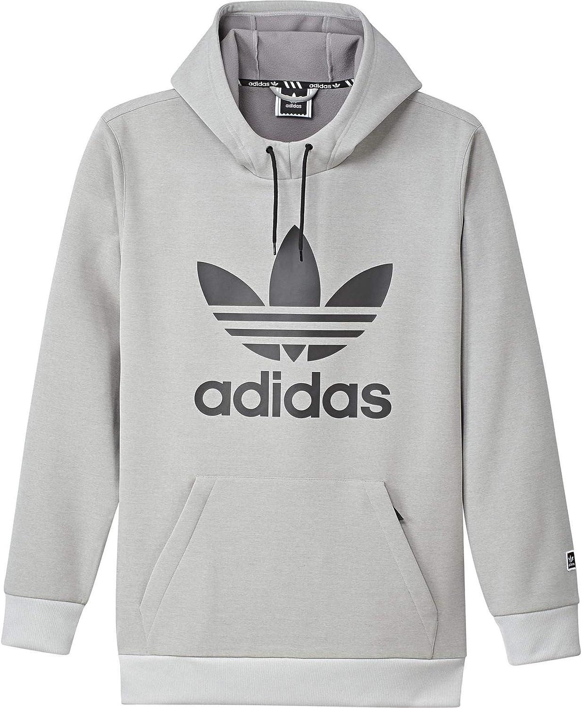 Adidas Club Sweat Hoodie Homme Gris