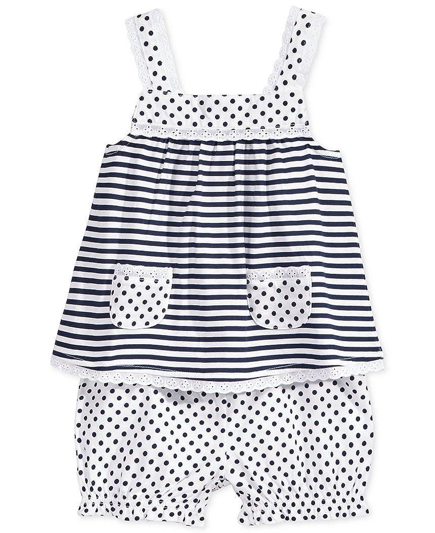 【新作入荷!!】 First Impressions赤ちゃん女の子ストライプ&水玉ブルマ First、18ヶ月、ブルー/ホワイト B01GZBRQ0E, 久々野町:0e828e39 --- ciadaterra.com
