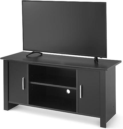 Mainstays Soporte de TV para televisores de Pantalla Plana de hasta 47 Pulgadas, Roble Negro Verdadero (Largo x Ancho x Alto) 43.15 x 16.85 x 20.08 Pulgadas: Amazon.es: Hogar