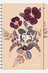 "FIREWEED 2020 - 2021 On-the-Go Weekly Planner: 17-Month Calendar with Pocket (Aug 2020 - Dec 2021, 5"" x 7"" closed): Joy Flowers Calendar"