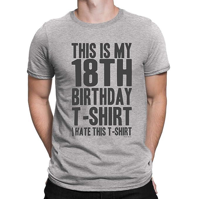 buzz shirts 18 Cumpleaños Regalo - Yo Odio Esto 18th ...